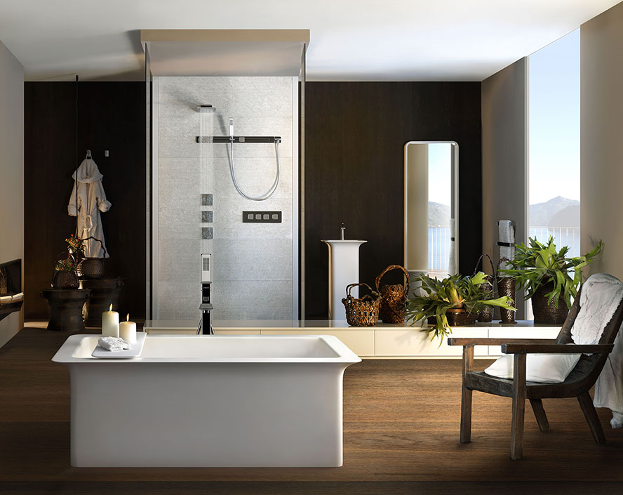 Vietceramics - Gessi Private Wellness - Turning your bathroom into a